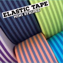 Elastic Tape - Mini Stripes
