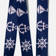 Elastic Tape-Anchor-Wheel-Boat-Navy