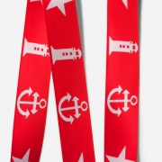 Elastic Tape-Anchor-Lighthouse-Star-Red