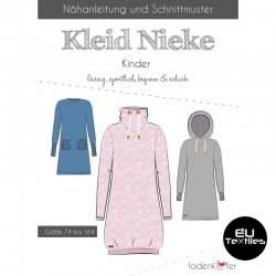 Sewing Pattern-Nieke Dress-Kids-EN