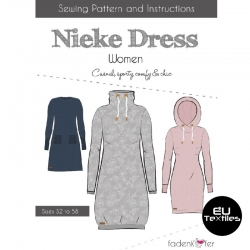 Sewing Pattern-Nieke Dress-Women-EN