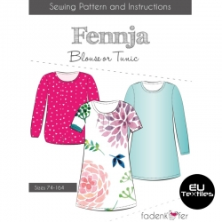 Sewing Pattern-Fennja-Kids-EN