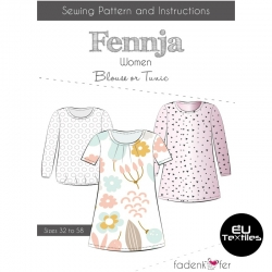 Sewing Pattern-Fennja-Women-EN