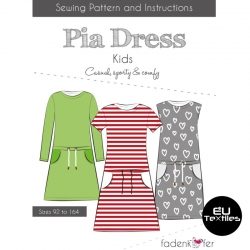 Sewing Pattern-Pia Dress-Kids-EN
