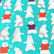 Cotton Jersey -  Polarbear