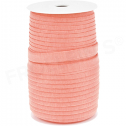 Fold-Over-Elastic - Peach