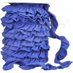 Ruffle Trim -Blue