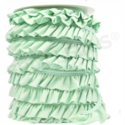 Ruffle Trim - Mint