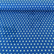 Cotton Jersey - Small Stars - Royal Blue