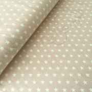 Cotton Jersey - Small Stars - Pale Pink