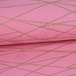 Summersweat - Shapelines - Pink/Gold