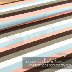 French Terry - Widestripes - Daisy