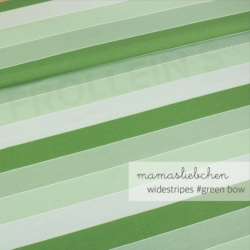 Cotton Jersey - Widestripes-Green