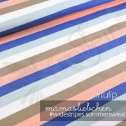 French Terry - Widestripes - Tulip