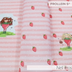 Cotton Jersey - Nell Strawberry-Rose