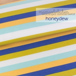 French Terry - Widestripes - Honeydew
