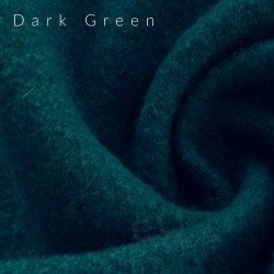 "Remnant 23""-Boiled Wool-Dark Green"