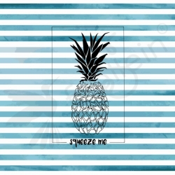 Organic Cotton Jersey - Pineapple