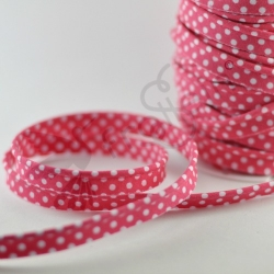 Piping Trim - Polka Dots - Pink