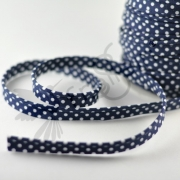 Piping Trim - Polka Dots - Navy