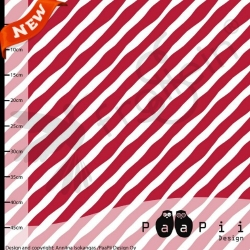 Organic Cotton Jersey - Candy Stripes