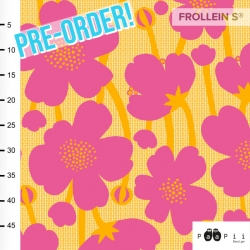 Pre-Order Organic Cotton Jersey - Buttercup-Pink-Yellow