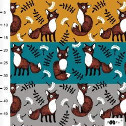 Organic Cotton Jersey - Nuutti-Foxes