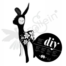 DiY Kit - PaaPii - Bambi - Black