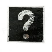 Reversible Sequin Patch - Exclamation-Questionmark
