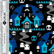 Organic Cotton Jersey - Boo Blue