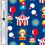 Organic Cotton Jersey - Sweet Circus