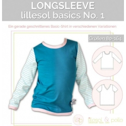 Sewing Pattern - Unisex - Longsleeve Shirt