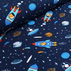 Organic Cotton Jersey - Rockets