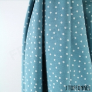 Organic Cotton Jersey - Dotties - Stillwater