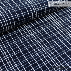 Organic Cotton Jersey - Like A Grid