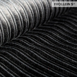 Organic Cable Corduroy-Black