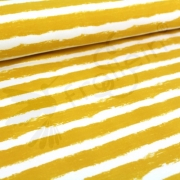 Organic Sweat - Mellow Stripes -Mustard