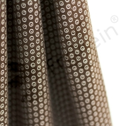 Organic Cotton Jersey - Circles N Dots - Brown