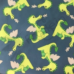 Softshell - Dragons - Jeansblue