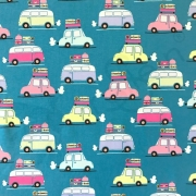 Cotton Jersey - Toot Toot Cars