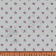 Cotton Jersey - Stars-gray
