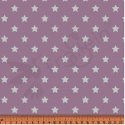 Cotton Jersey - Stars-Old Rose