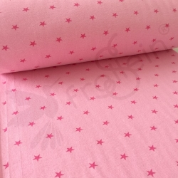 Seconds - Ribbing - Stars - Pink