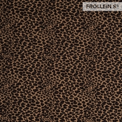 Cotton Jersey - Leopard-Brown
