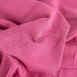 Sweat Fabric - Melange Hot Pink