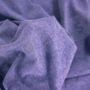 Sweat Fabric - Melange Smoke Blue