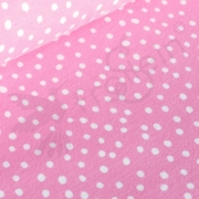 Fat Half - Organic Cotton Jersey - Droppar - Pink