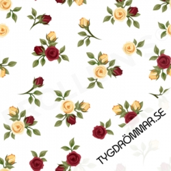 Organic Cotton Jersey - Mini Roses