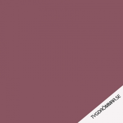 Organic French Terry - Solid Maroon