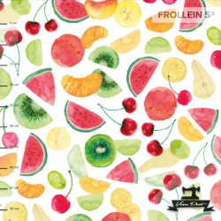 Organic Cotton Jersey - Fruit Salad